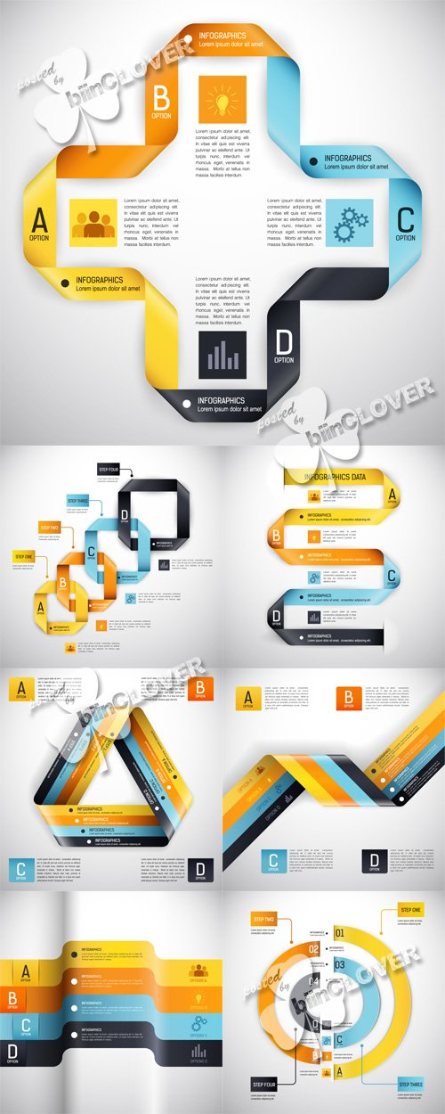 Vector Design template for infographics