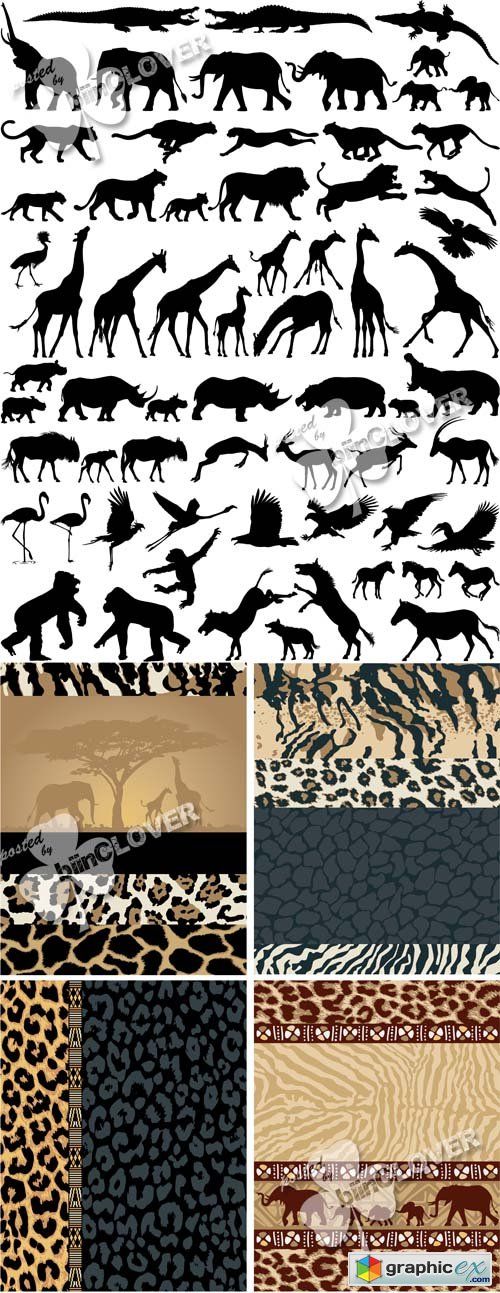 Vector African style 0530