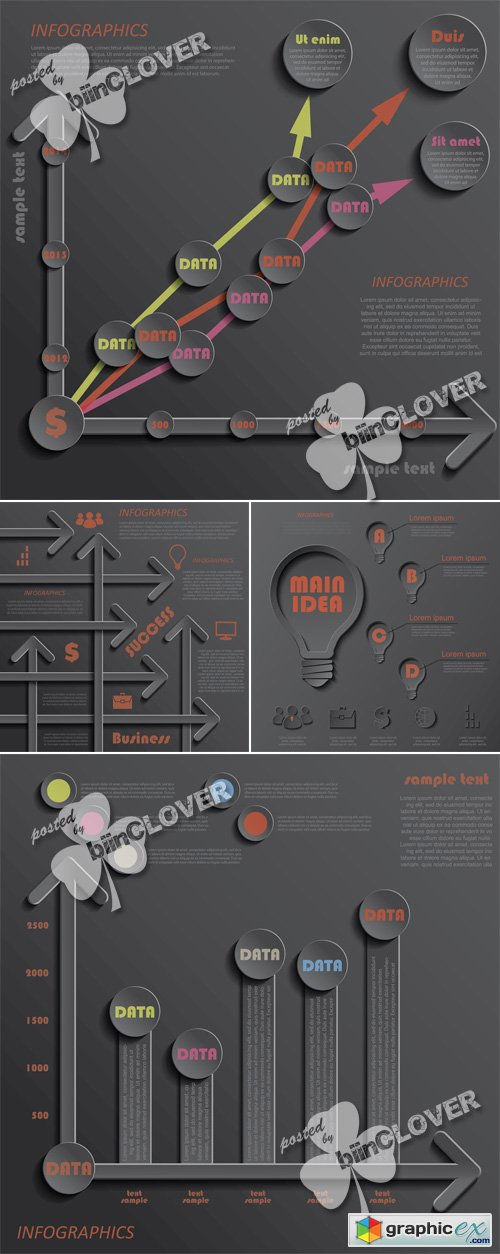 Vector Infographics design 0528
