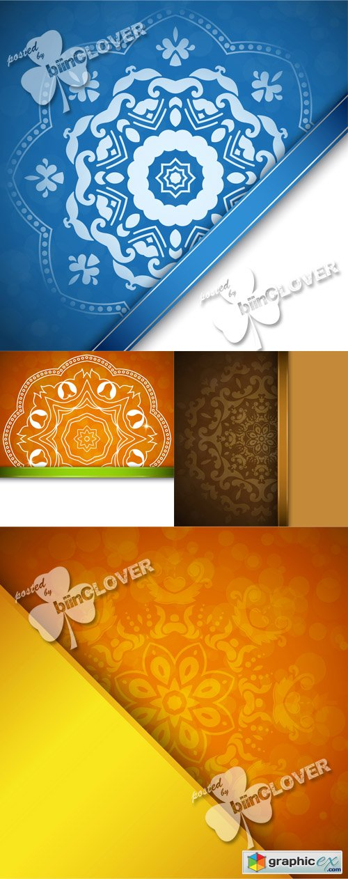 Vector Background with ornament 0528