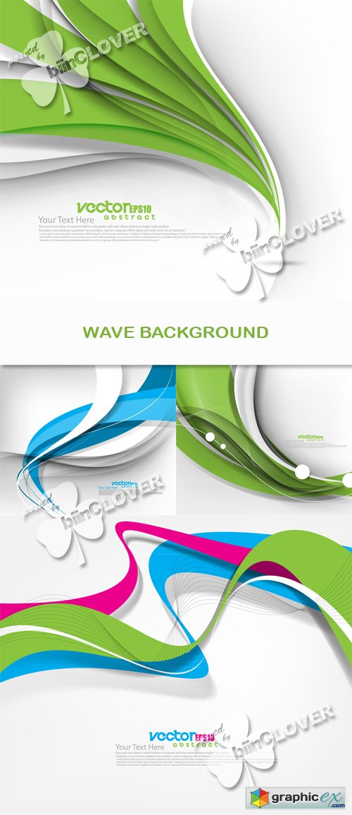 Vector Wave background 0527