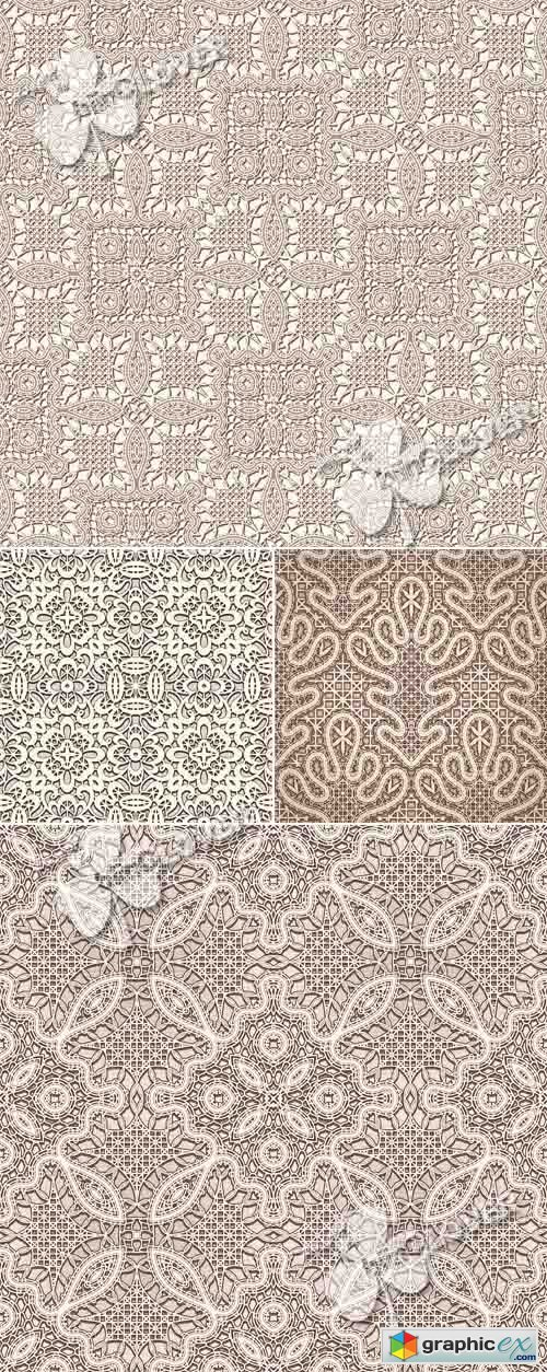 Vector Lace seamless pattern 0524