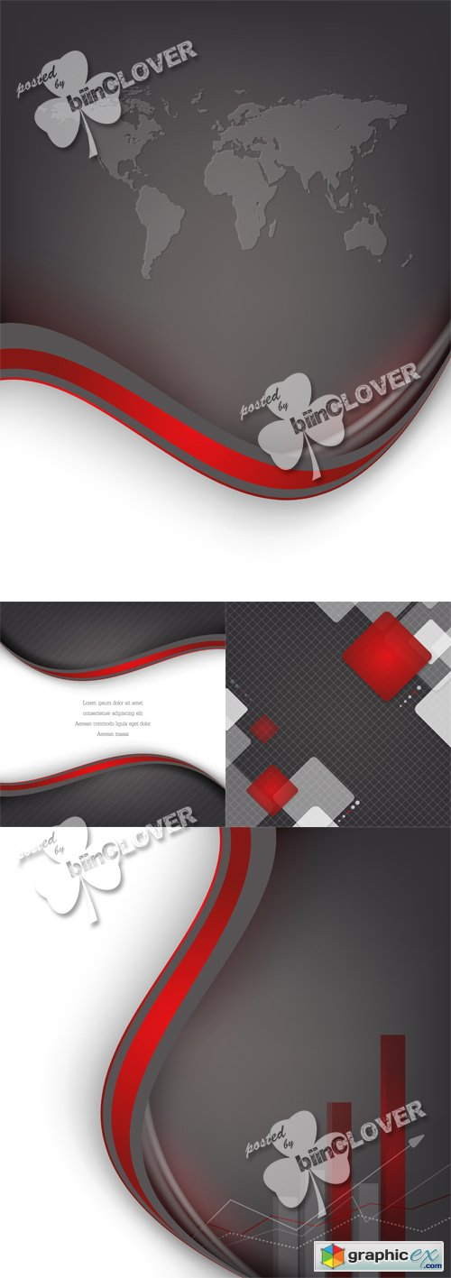 Vector Corporate abstract background 0519