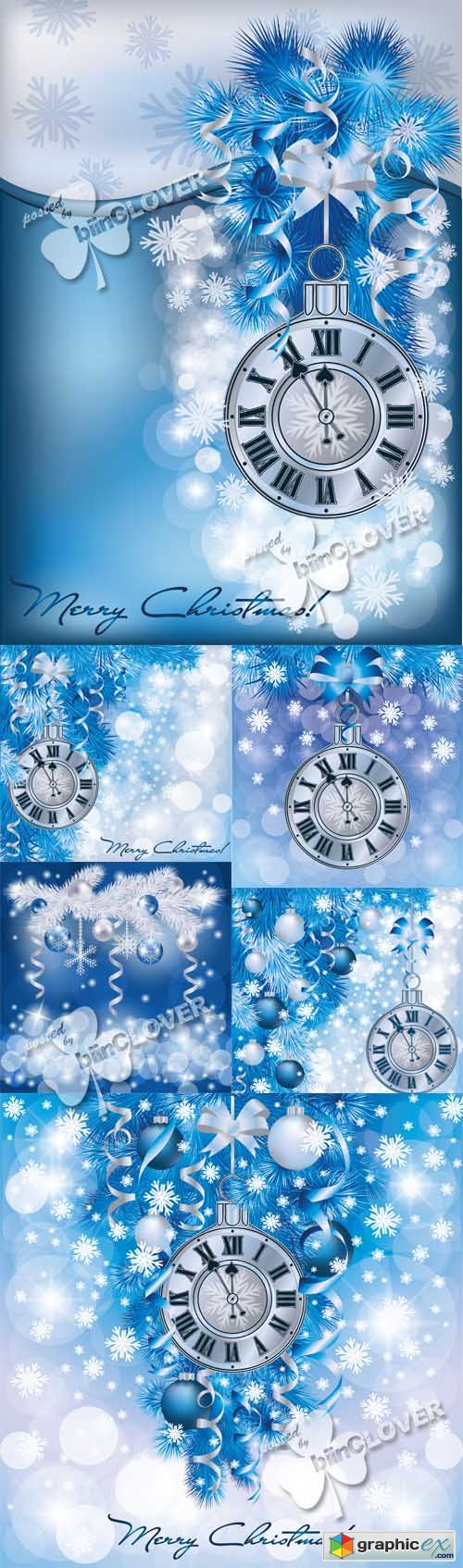 Vector Elegant Christmas background 0514