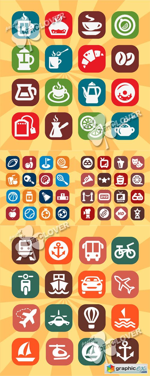 Different icons set 0513