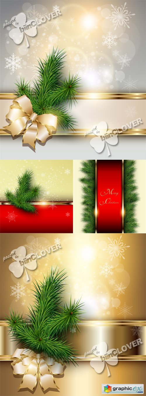 Vector Elegant Christmas background 0511