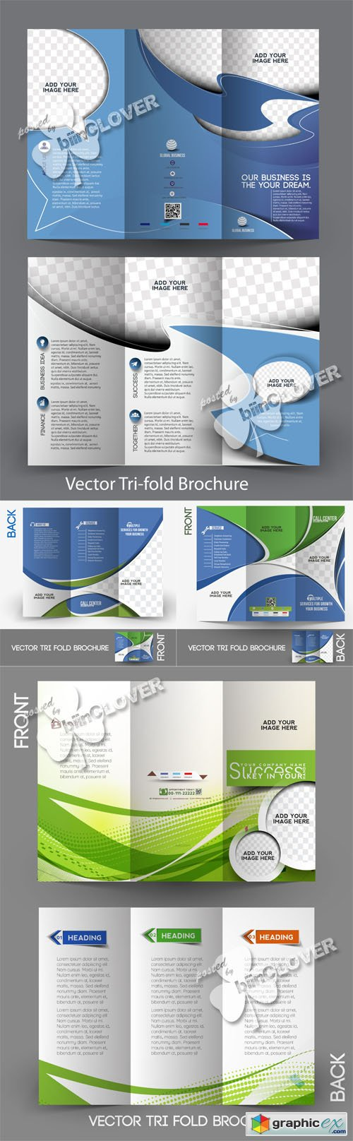 Vector Corporate brochure design 0508