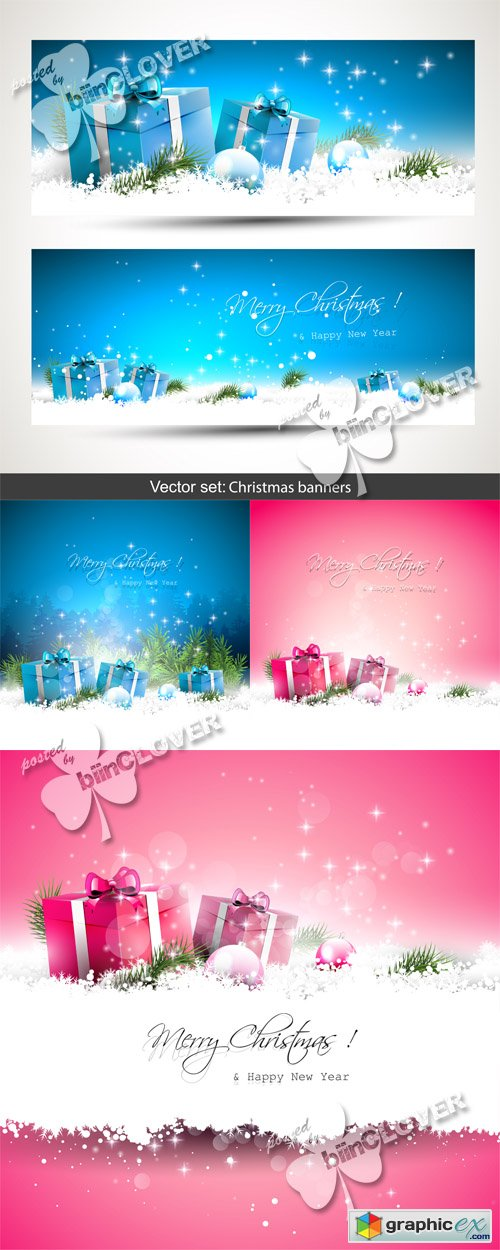 Vector Christmas design with gifts boxes 0507