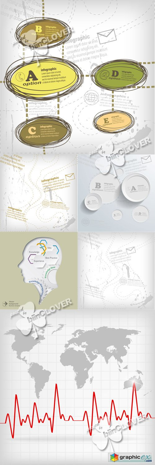 Vector Infographics sketch 0505