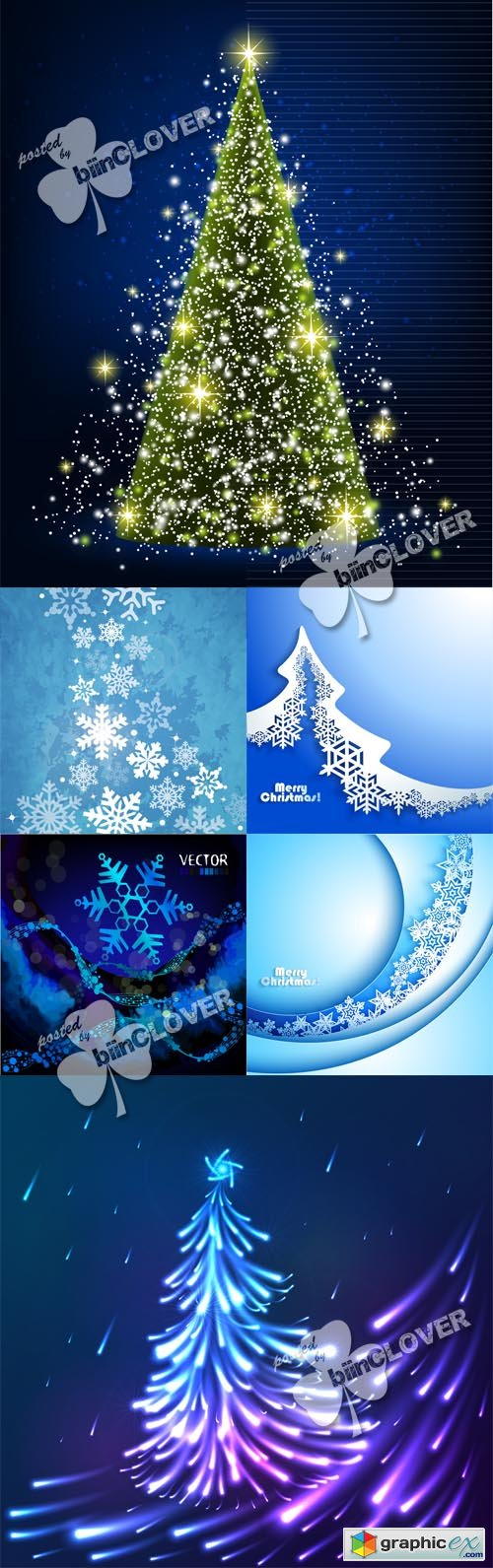 Vector Christmas background 0499