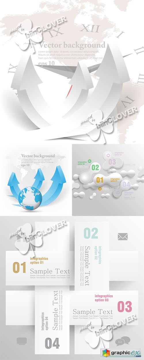 Vector Infographic concept design 0496
