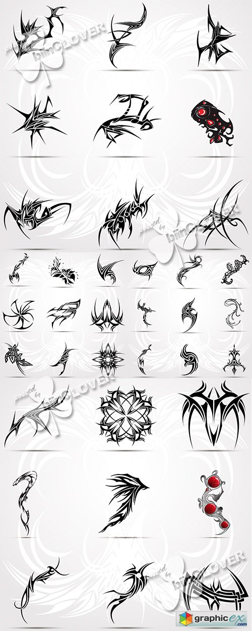 Vector Tattoo illustration 0495