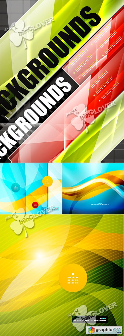 Vector Abstract modern background 0485