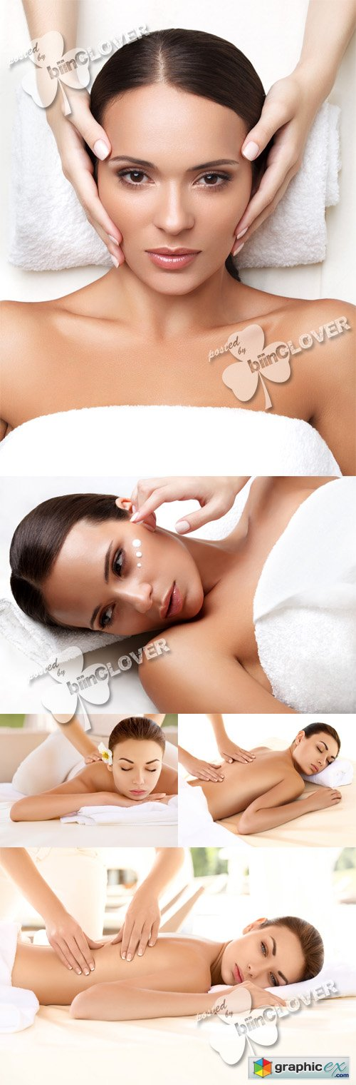 Woman in spa salon 0484