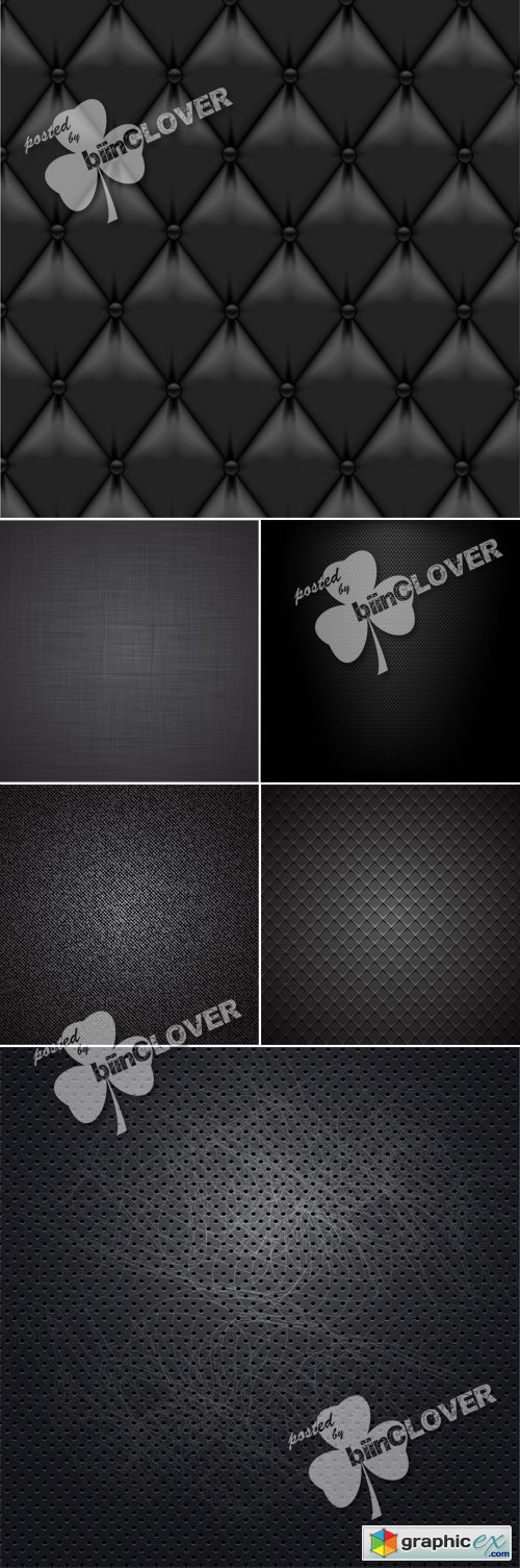 Vector Black background with different texture 0482