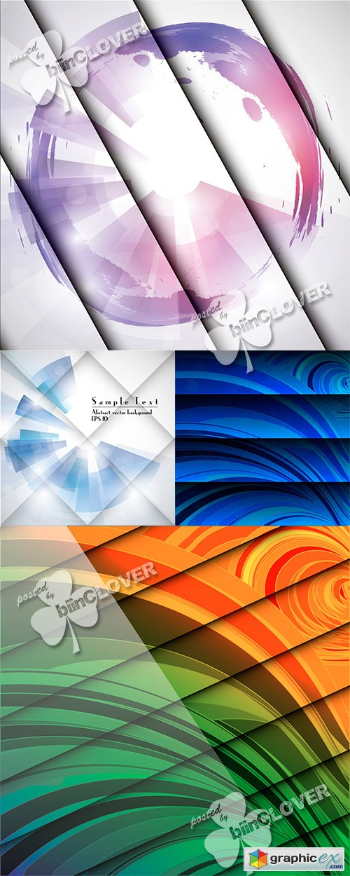 Vector Abstract geometric background 0481