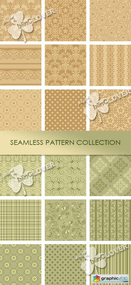 Vector Seamless pattern collection 0468