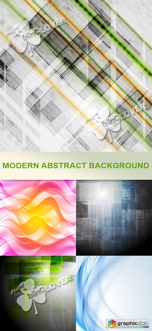 Vector Modern abstract backgrounds 0466