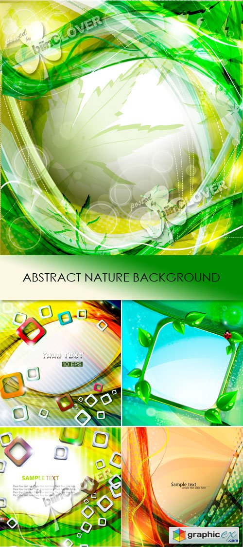 Vector Abstract nature background 0462