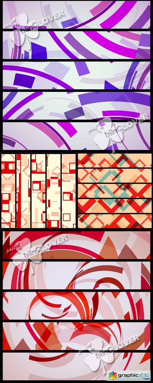Vector Abstract banner 0461