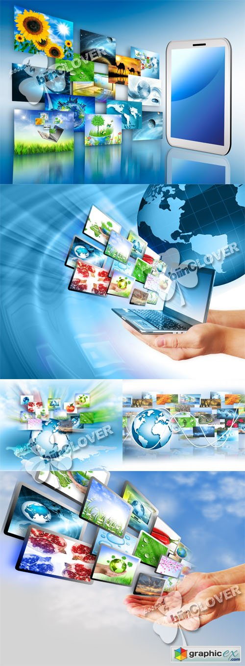 Internet production technology concept 0461