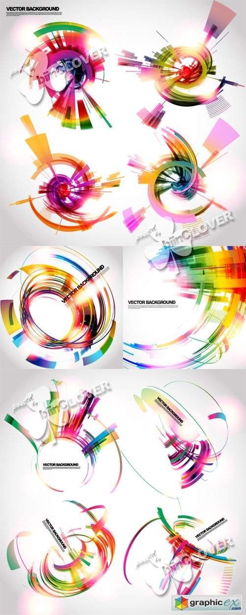 Vector Abstract technology background 0459