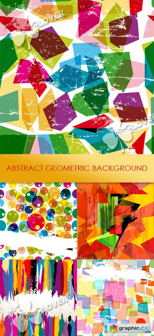 Vector Abstract geometric background 0449