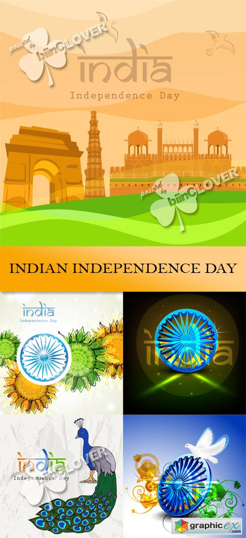 Vector Indian independence day 0444