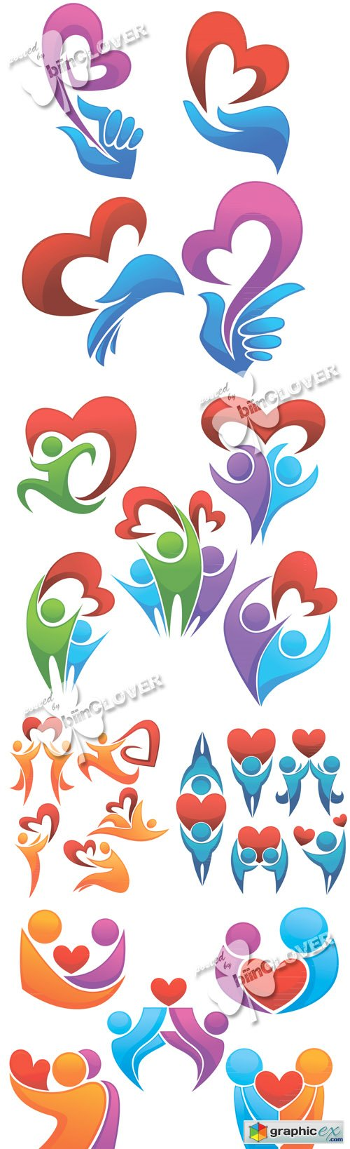 People with heart icons 0422