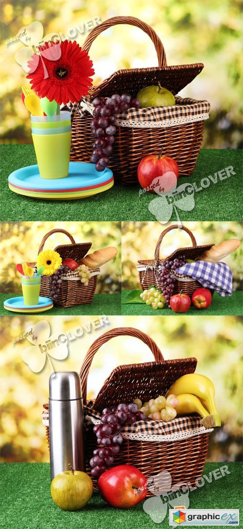 Picnic background 0383
