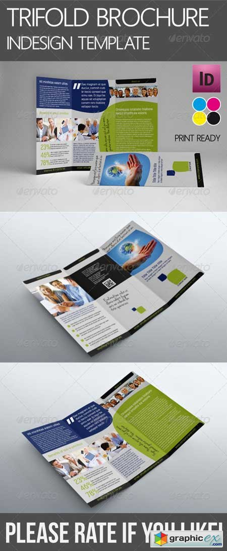 Trifold Corporate Brochure 4542826