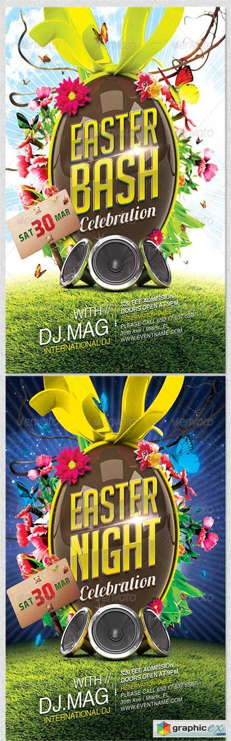 Easter Flyer Template 4065855