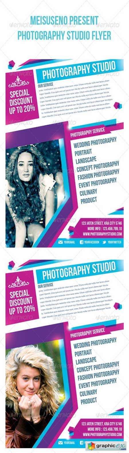 Photography Studio Flyer