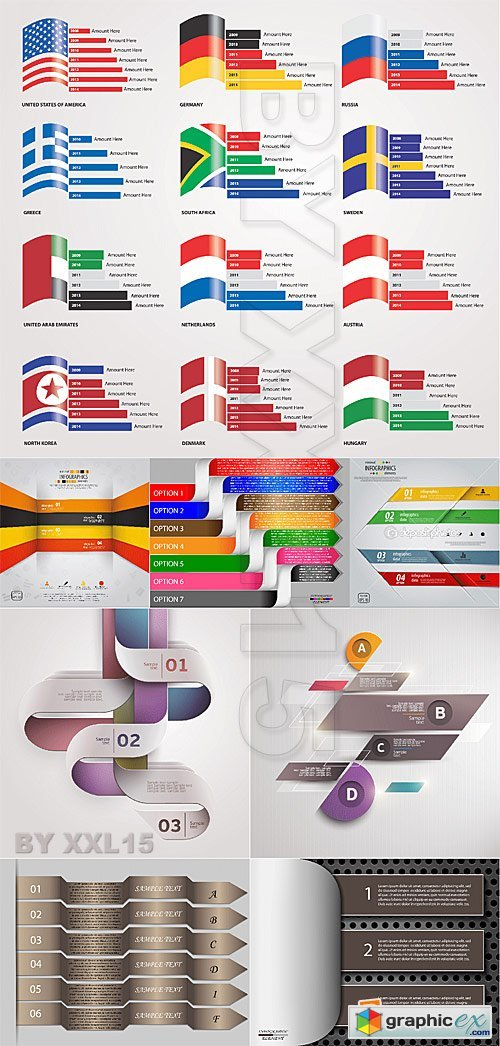 Vector Modern Infographics elements 2