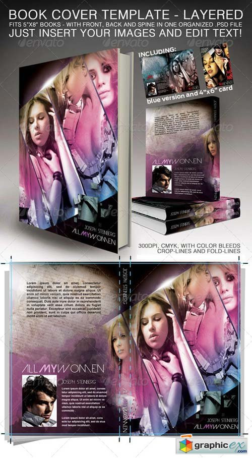 Book Cover - Print ready Template