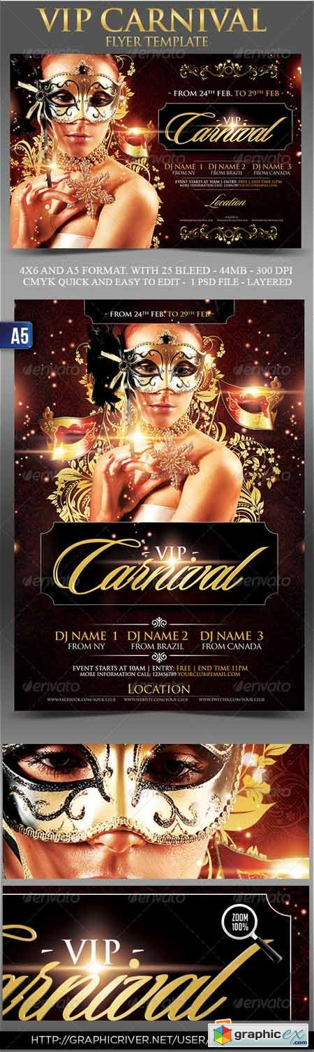 Vip Carnival Flyer Templates