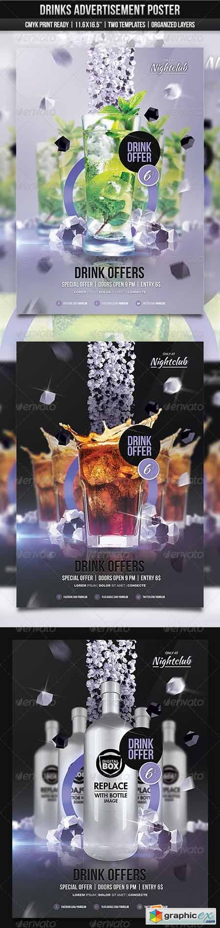 Drinks Ad Poster