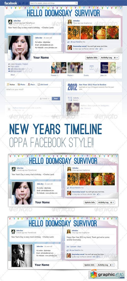 FB Covers - Timeline