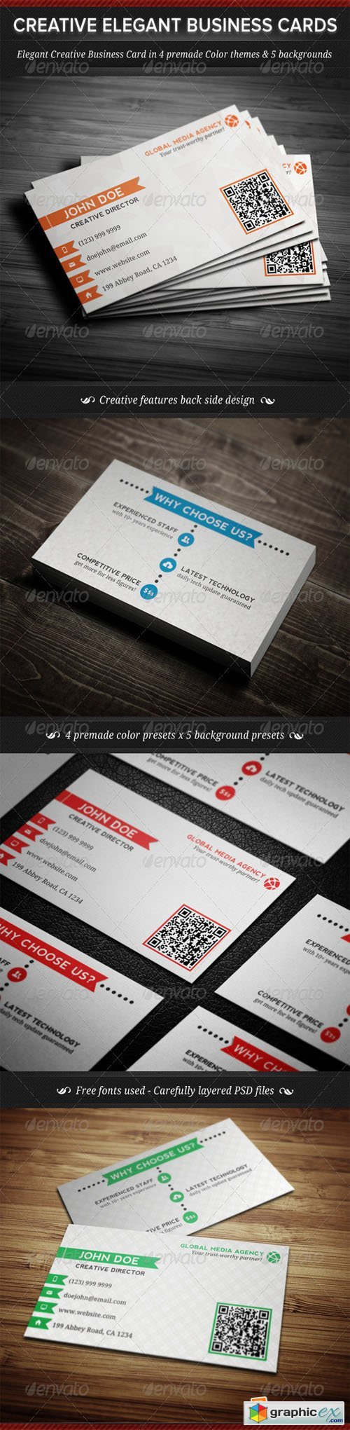 Elegant Creative Business Cards Templates