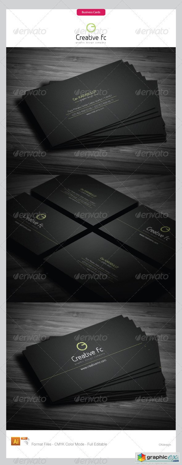 Corporate Business Cards 276