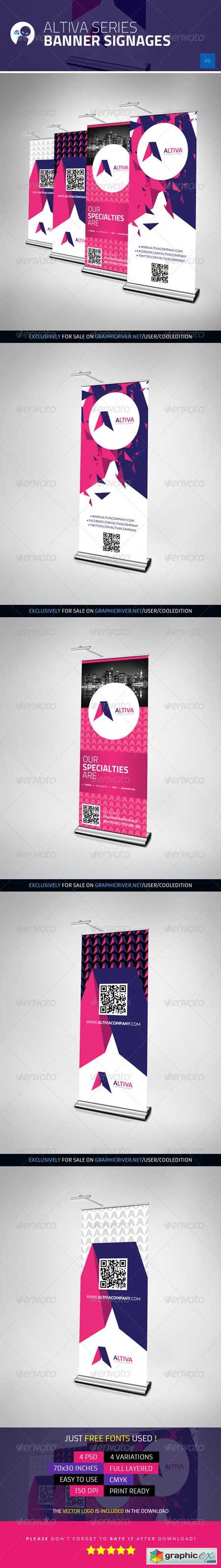Altiva Series - Banner Signages