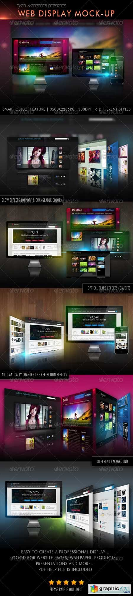 Web Display Mock-Ups