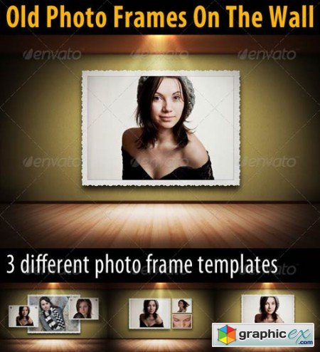 Old Photo Frames On The Walls 3352306