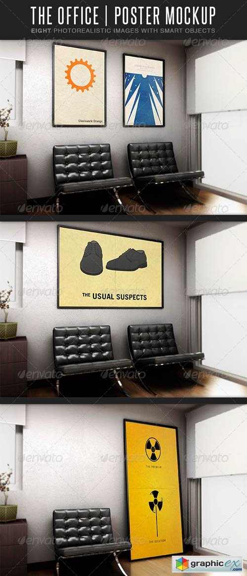 The Office MockUp 3669780