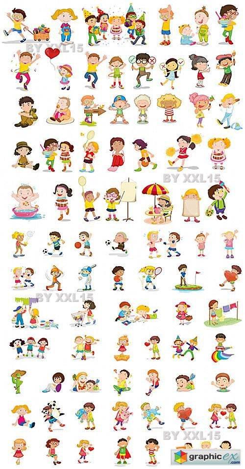 Vector Children vector set