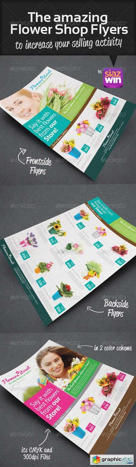 The Amazing Flower Shop Flyers 2849475