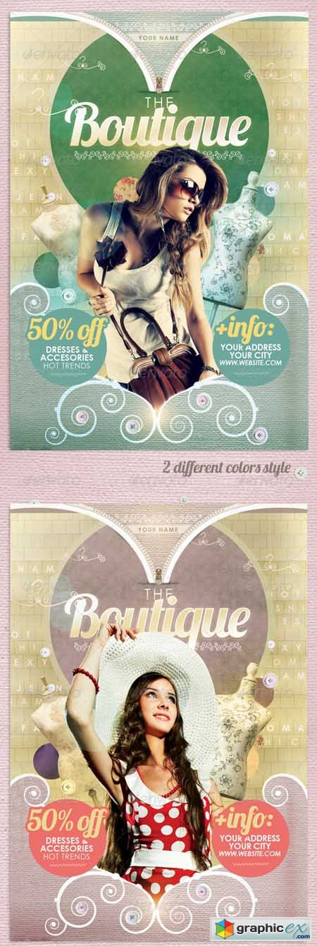 The Boutique Flyer Template 2888257