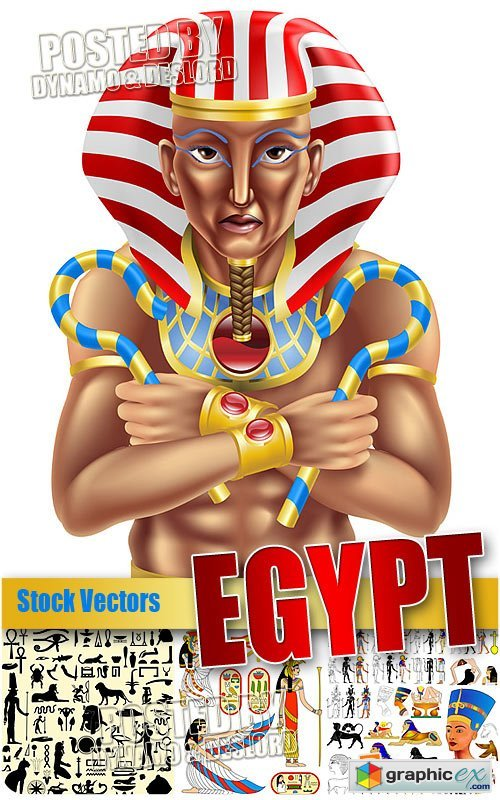 Vector Egypt - Stock Vectors