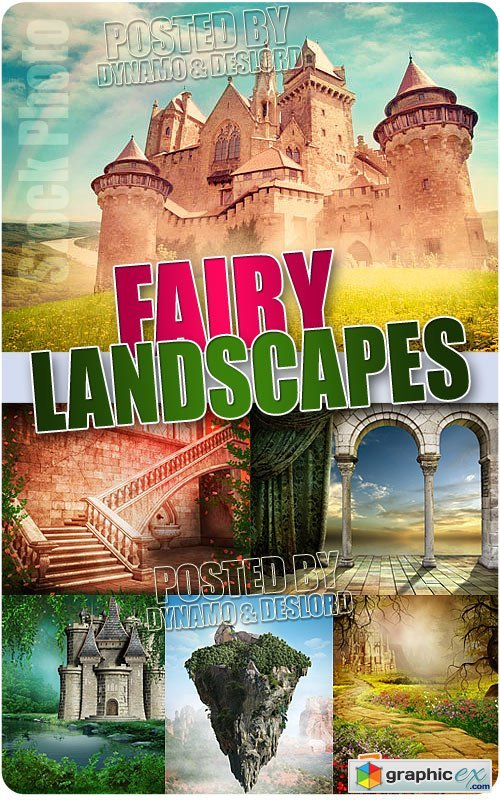Fairy landscapes - UHQ Stock Photo
