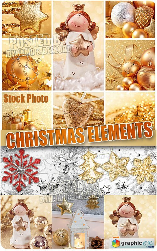Christmas Elements - UHQ Stock Photo